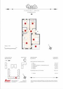 Mieszkanie nr. C-K8-2-M1