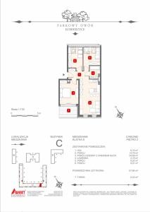 Mieszkanie nr. C-K8-2-M2
