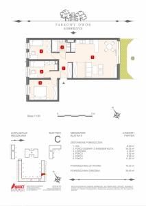 Mieszkanie nr. C-K9-0-M1