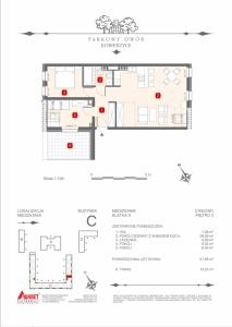 Mieszkanie nr. C-K9-2-M1