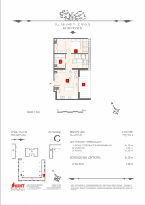 Mieszkanie nr. C-K9-2-M2