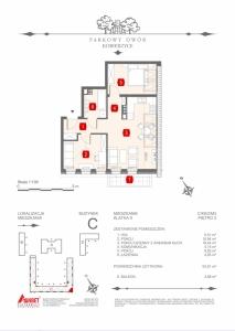 Mieszkanie nr. C-K9-2-M3