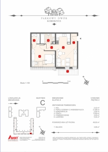 Mieszkanie nr. C-K9-2-M4