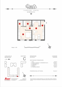 Mieszkanie nr. C-K9-0-M5
