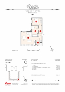 Mieszkanie nr. C-K9-0-M6